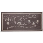 Ming's Mark 8' x 18' Brown/Beige RV Home Mat