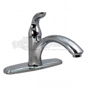 Phoenix Hi-Arc Hybrid Single Handle Chrome Kitchen Faucet
