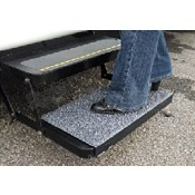 Safety Step Charcoal Sand Away Step Rug