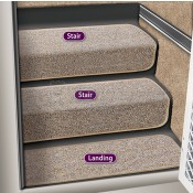 Prest-O-Fit Sandstone Step Hugger for Stair Step