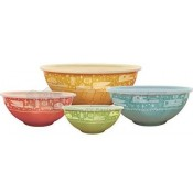 Camp Casual Nesting Bowl Set With Lid