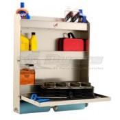 Tow-Rax Aluminum Folding Tray Storage Cabinet