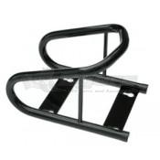 Tow-Rax Powder Coated Black Steel Wheel Chock