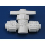 "Flair-It 1/2"" x 1/2"" Straight Water Shut Off Stop Valve"