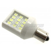 Long lasting led bulb for single contact fixtures