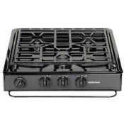 Suburban Black Sealed Burner 3-Burner Slide-In Cooktop