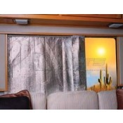 """Camco 24"""" x 120"""" Reflective Side/Back Window Cover"""