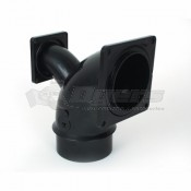 "Valterra 3"" Dual Flanged 90º Spigot Ell Collector Fitting"