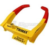 Trimax Large Trailer Wheel Chock Lock Boot