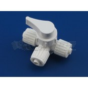 "Flair-It 3/8"" Three Way Water Shut Off Valve"