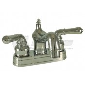 Empire Brass Company Chrome Teapot Handle Old World Spout Lavatory Faucet