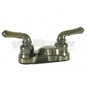 Empire Brass Company Chrome Teapot Handle Lavatory Faucet