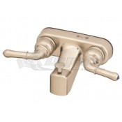 Empire Brass Company Brushed Nickel Tub/Shower Diverter with Teapot Handles