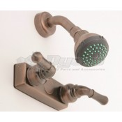 Empire Brass Company Oil Rubbed Bronze Teapot Handle Shower Control Valve Kit