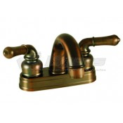 Empire Brass Company Oil Rubbed Bronze Teapot Handle Arc Spout Lavatory Faucet