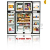 Norcold Ultraline 12 Cu Ft. Side-by-Side Refrigerator