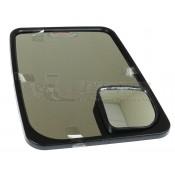 Velvac Black Class C 2020 Standard Head Mirror Kit