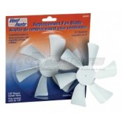 """Vent Mate Replacement Exhaust Fan Blade for Ventline Roof Vents 1/8"""" Round Bore"""