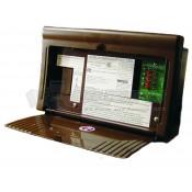 WFCO Brown 25 Amp Distribution Panel Converter