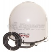 Winegard White Pathway X1 Fully Automatic Portable Satellite for DISH
