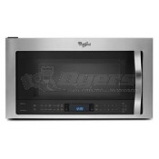 Whirpool Stainless Steel Over the Range Convection Microwave Hood Combination